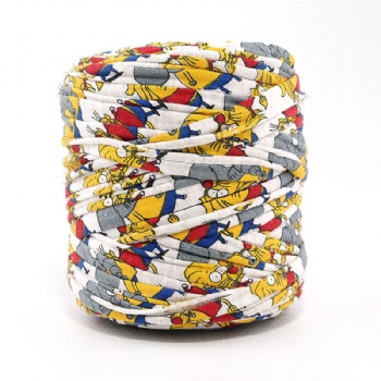 Colorful Group T-Shirt Yarn
